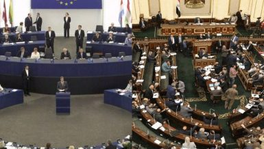 EU parliament adopts resolution on human rights in Egypt, Egyptian Parliament denounces decision