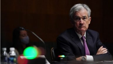 U.S. Federal Reserve (Fed) Chairman Jerome Powell