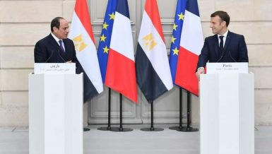 Egypt's President Abdel Fattah Al-Sisi has met with his French counterpart, Emmanuel Macron, to discuss bilateral ties and the connection between France and the Muslim world.