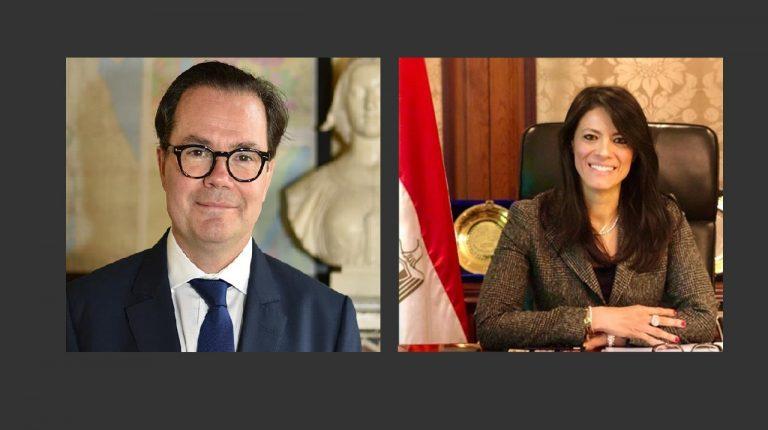 مصر وفرنسا تبحثان تقوية العلاقات الاقتصادية