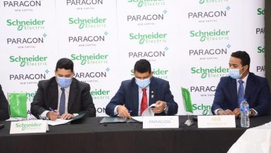 Builderia Development has announced the signing of three contracts for the construction of its PARAGON project, based in the New Administrative Capital (NAC).
