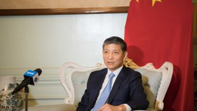China's Ambassador to Egypt Liao Liqiang