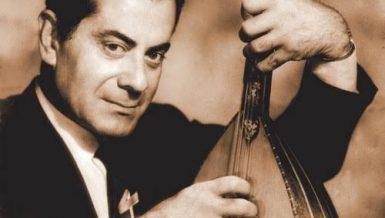iconic Syrian-Egyptian composer and singer Farid Al-Atrash.