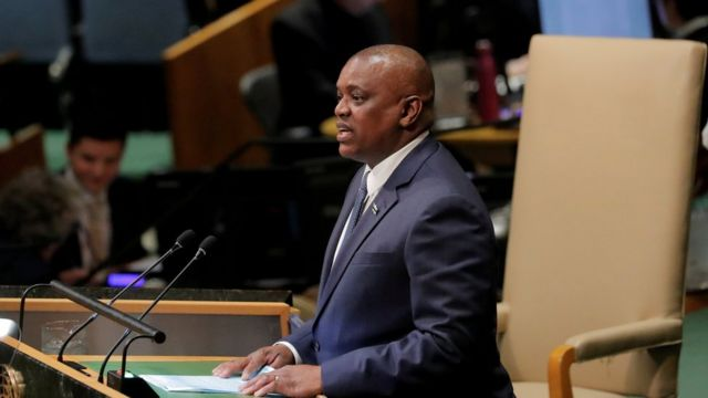 in a televised speech via Botswana Television, President Mokgweetsi Masisi announced that his government has taken a decision to impose a curfew starting Thursday.