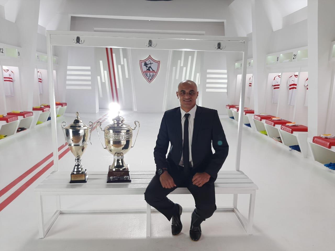 الحسینی سمیر ، رئیس شرکت خدمات ورزشی Fast Break