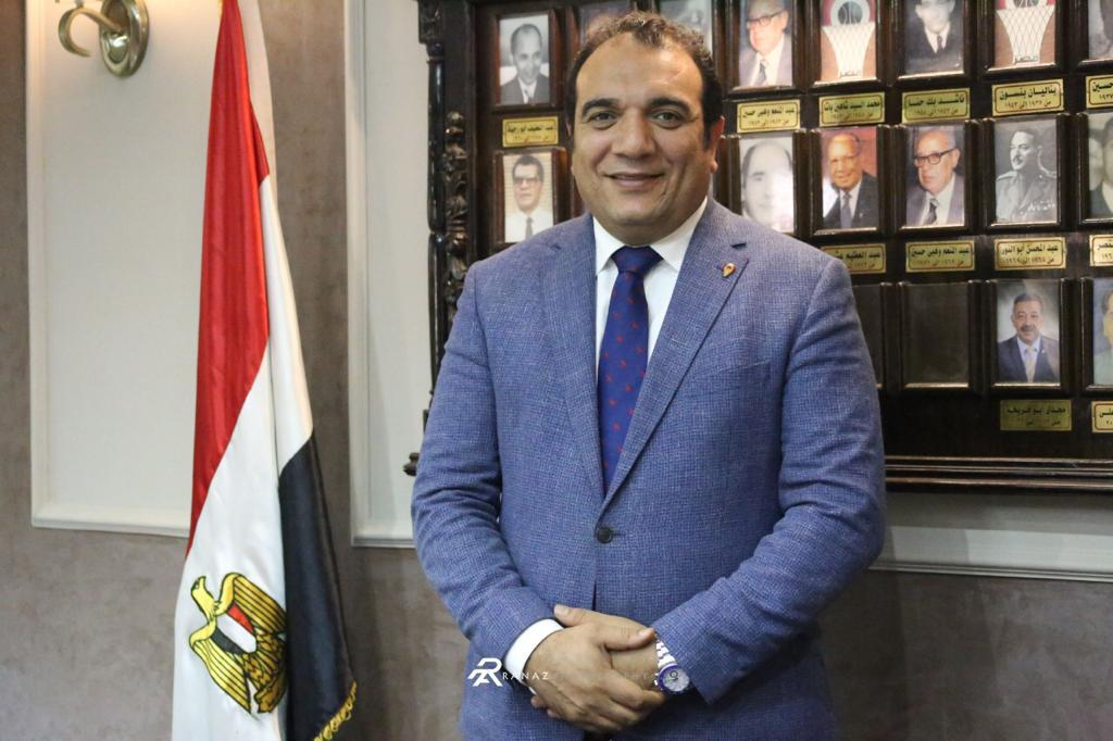 Mohamed Fathy, a board member of the EBF