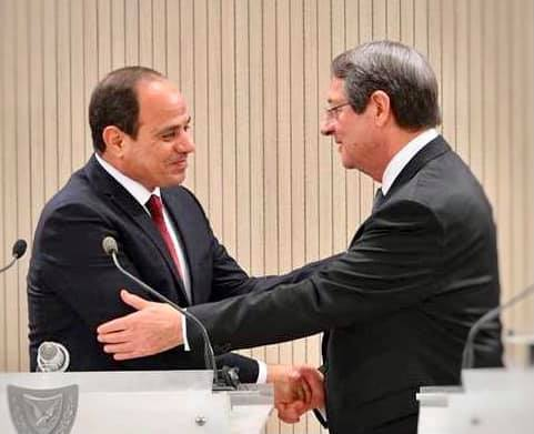 President Al-Sisi, Cypriot counterpart discuss bilateral relations