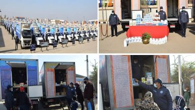 Egypt's Army distributes disinfectants, food at lower prices in high-population areas