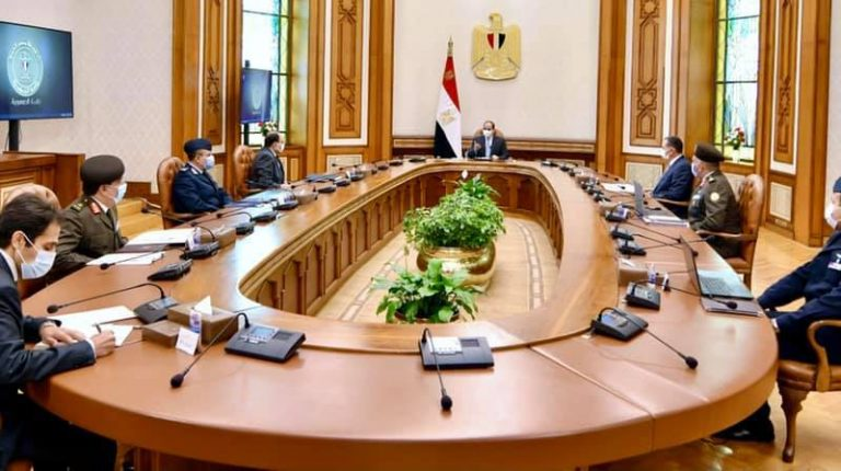 Al-Sisi follows up on developments of 'Egypt's Future' agricultural project