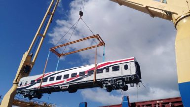 Egypt receives 19 new railcars under deal to manufacture, supply 1,300 units