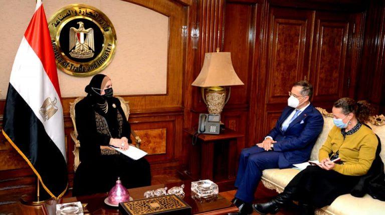Egypt, Switzerland discuss boosting economic cooperation
