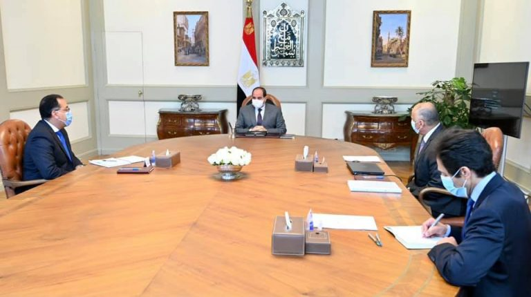 President Al-Sisi stresses need for containing economic consequences of COVID-19