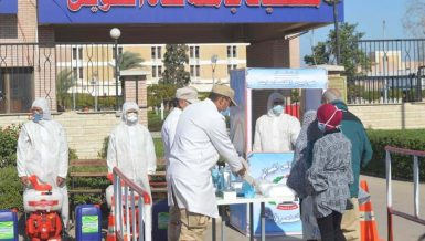 Armed Forces continue disinfecting public places to combat COVID-19