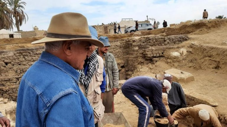 Funerary temple of Queen Nearit, wife of Pharaoh Teti, discovered