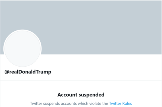 Twitter permanently bans Donald Trump's account