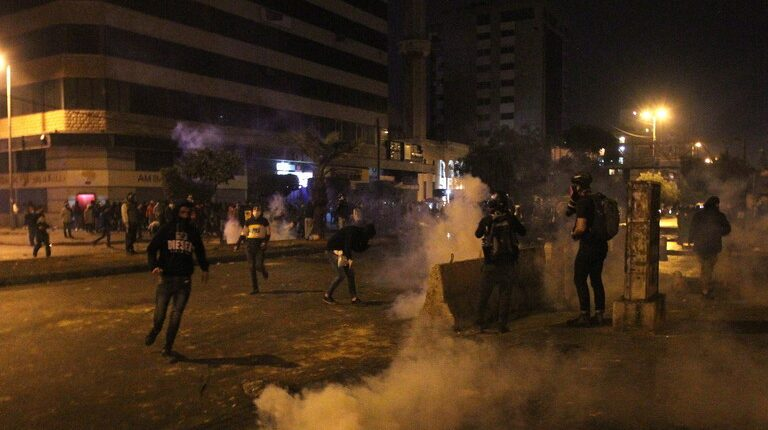 One killed, 226 wounded during protests in Lebanon