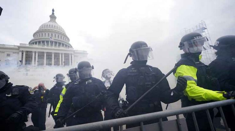 The U.S. Capitol was breached by protesters on Wednesday afternoon, a tense situation that has forced proceedings to count Electoral College votes cast in the 2020 presidential election to halt.
