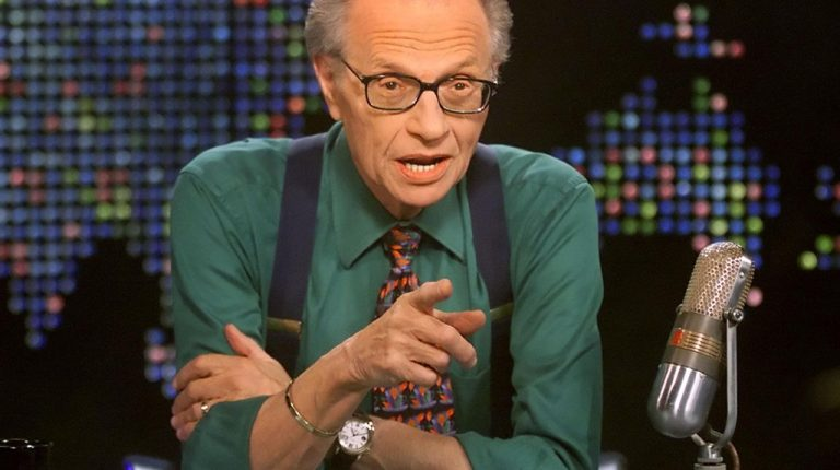 Larry King, a talk show host and former CNN interviewer, was diagnosed with COVID-19, according to CNN.