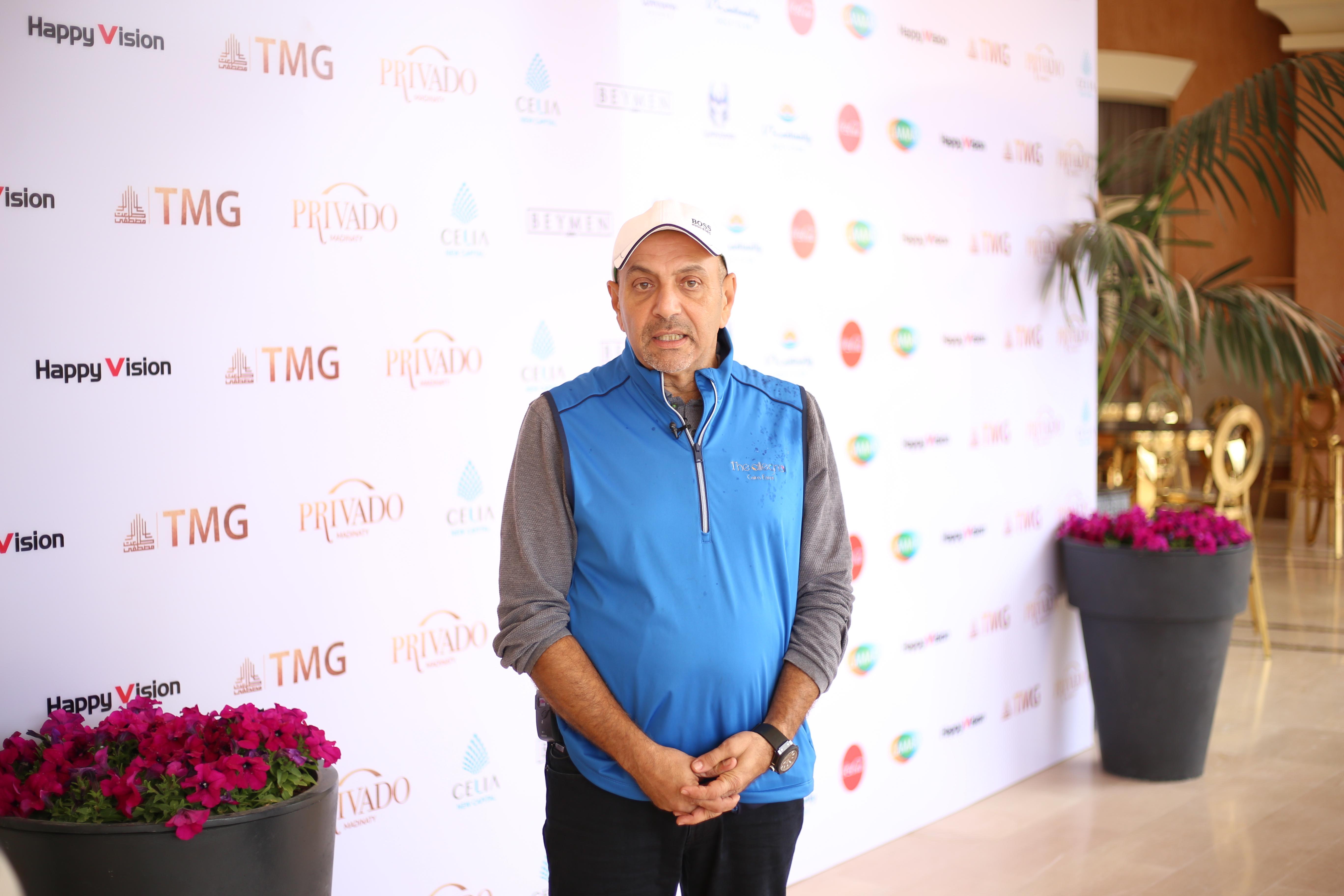 EGF President Ayman Hussein