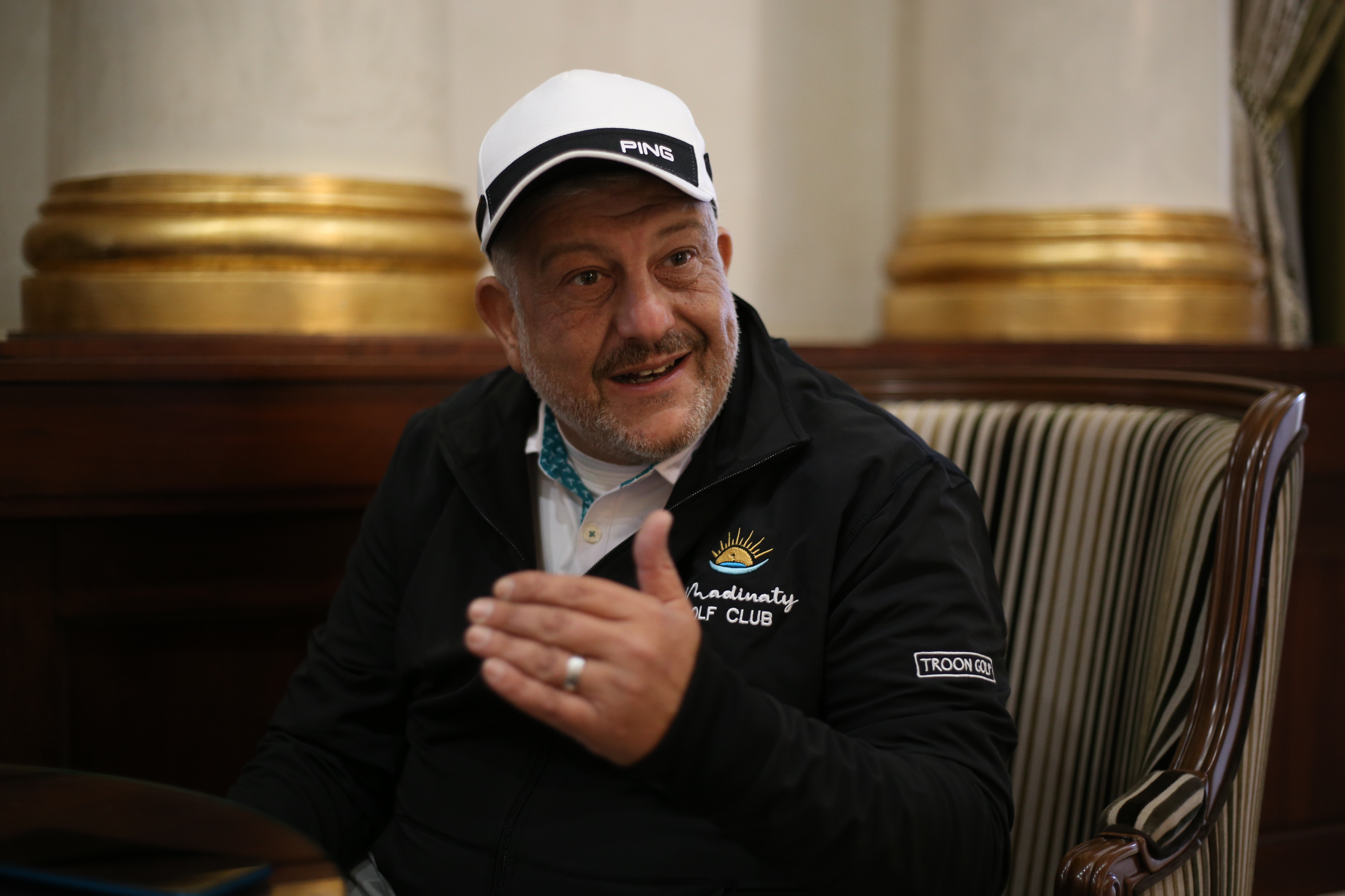 Mohamed Atallah, a board member of the Egyptian Golf Federation