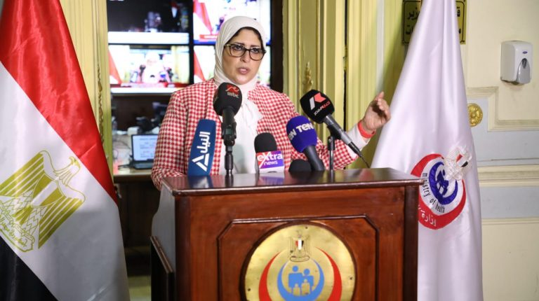 """The Egyptian Health Minister Hala Zayed has said that the situation regarding medical oxygen supplies in the country """"is stable"""", and that """"no problems have been reported at hospitals for three days."""""""