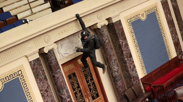 Pence and Lawmakers Evacuate as Trump Supporters Storm Capitol, Halting Count of Electoral Votes
