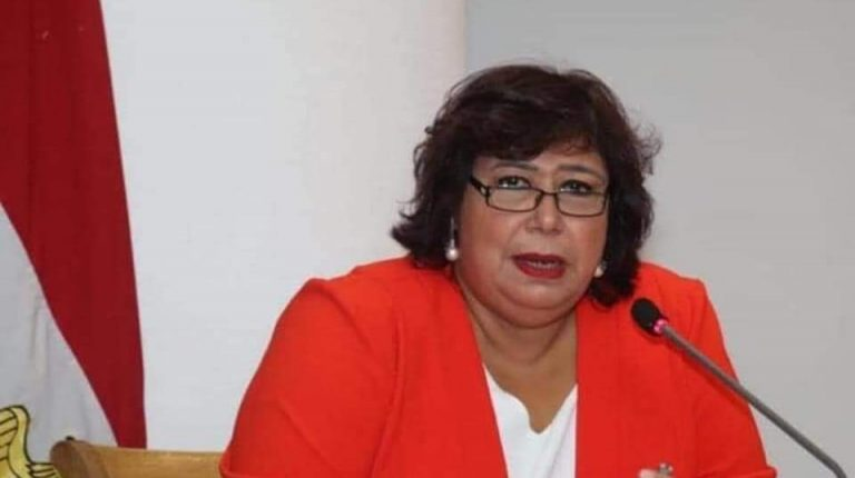 Minister of Culture Inas Abdel Dayem