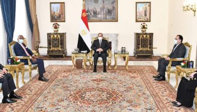 President Al-Sisi affirms Egypt's support for promoting Africa-wide integration