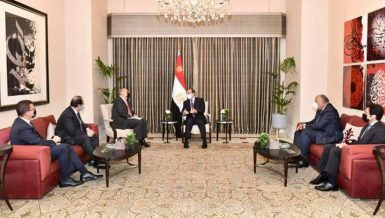 Egypt's Al-Sisi asserts aspiration to strengthen cooperation with Jordan