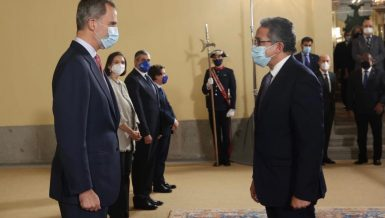 King of Spain holds reception for Tourism Ministers, delegation heads at 114th UNWTO session