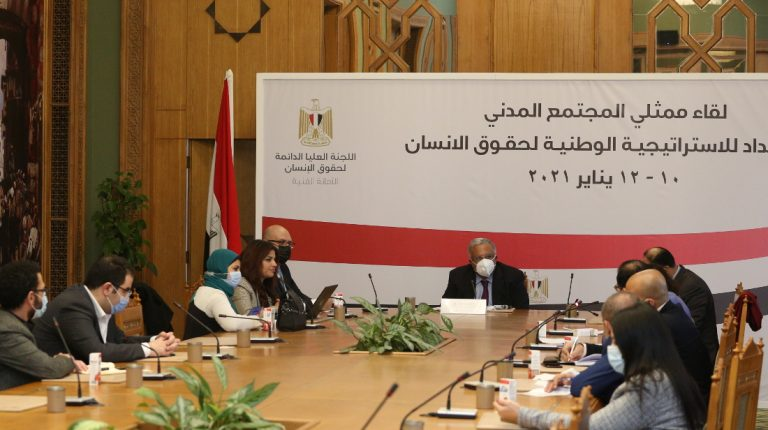 This comes in preparation for the launch of Egypt's first national strategy for human rights, SSCHR Secretary-General Ambassador Ahmed Ihab Gamal El-Din told reporters in a Tuesday press conference.