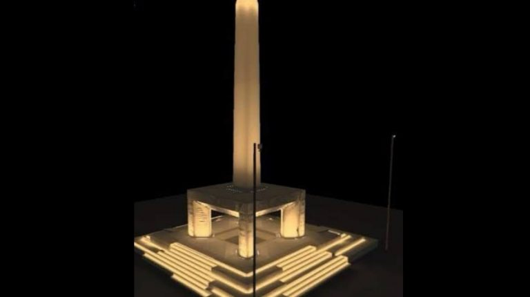 Grand Egyptian Museum to showcase world's first hanging              obelisk