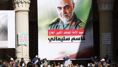 Several Iranian political and military officials issued warnings on Saturday over possible hostile movements against Iran, on the first anniversary of the killing of commander Qassem Soleimani.