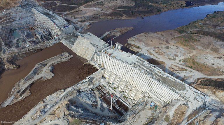 Grand Ethiopian Renaissance Dam (GERD) Nile dam on the Blue Nile River Egypt Ethiopia Sudan Daily News Egypt