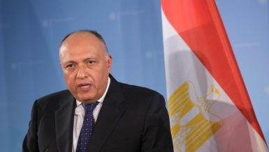Egyptian Minister of Foreign Affairs Sameh Shoukry will receive, on Sunday, the African Union (AU) Commission Chairperson Moussa Faki Mahamat