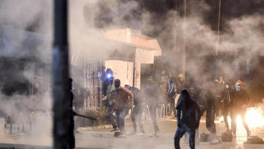 Rioters in Tunisia clash with security forces for third night