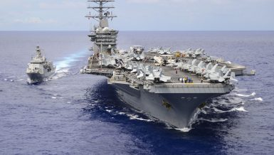 "The Pentagon said late Sunday that US aircraft carrier USS Nimitz would remain in the Middle East waters due to ""threats from Iran,"" reversing a previous decision to order the warship back home. Iranian."