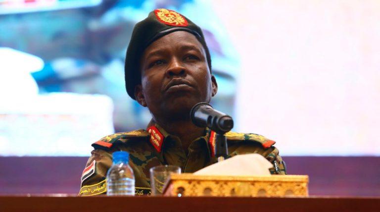 Sovereign Council member Lt Gen Shamseldin Kabbashi