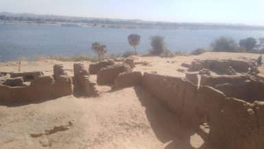 The Egyptian Ministry of Tourism and Antiquities announced on Monday the discovery of remains of a Roman fort in Upper Egypt's Aswan Governorate.