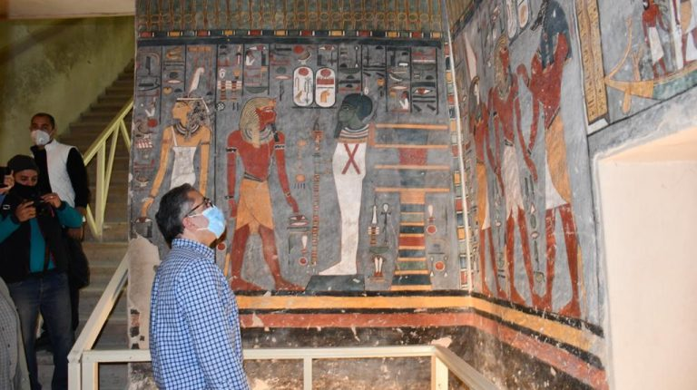 Egypt reopens tomb of Ramses I following restoration