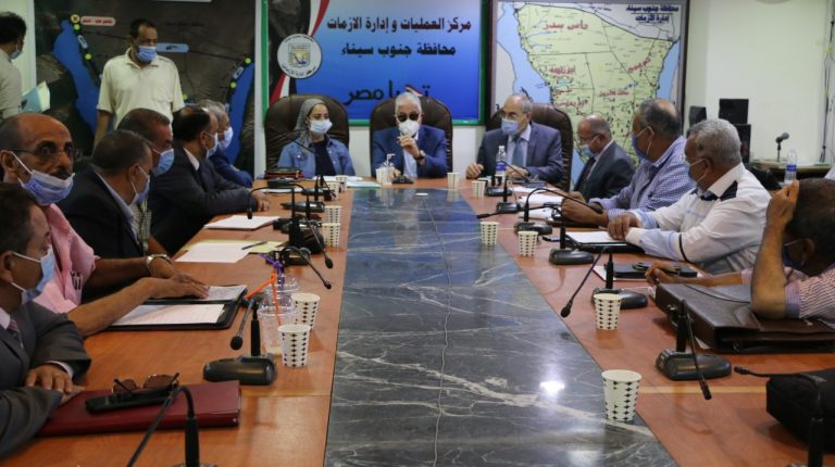A delegation from Egypt's Ministry of Planning and Economic Development has continued its tours in South Sinai, to follow up on work relating to digital transformation projects.