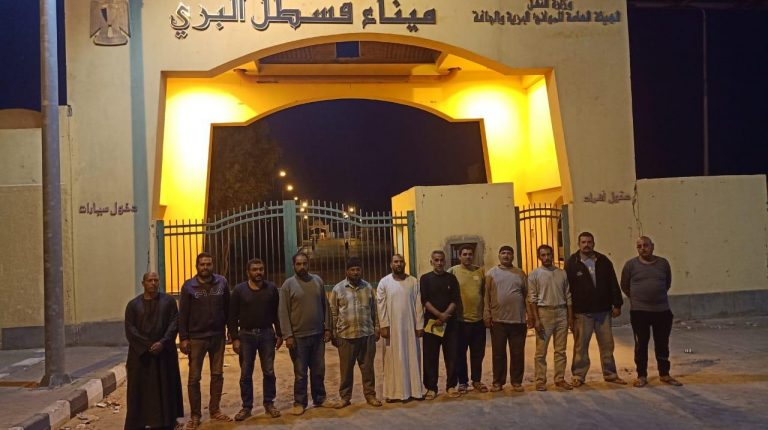 12 Egyptian drivers detained in Sudan return home safely