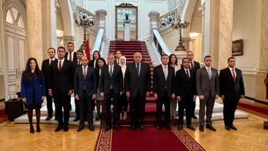 Foreign Minister attends graduation of new diplomats