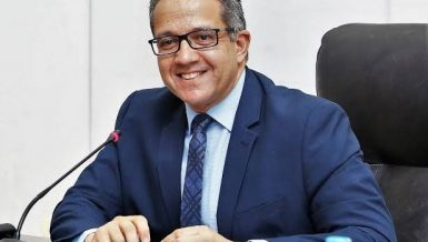 Minister of Tourism and Antiquities Khaled Al-Anani