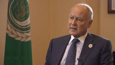 Ahmed Aboul Gheit as Secretary-General of the Arab League