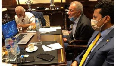 Sports, Health Ministers discuss measures against COVID-19 during handball world cup