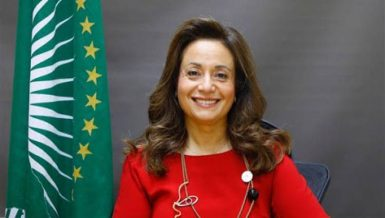Commissioner for Infrastructure and Energy Amani Abou-Zeid, who is running in the African Union (AU) Commission elections