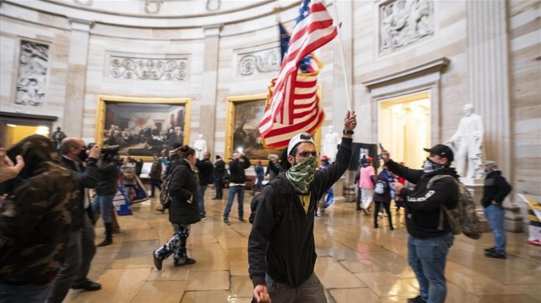 Storming of US Capitol sparks celebrity fury on Twitter
