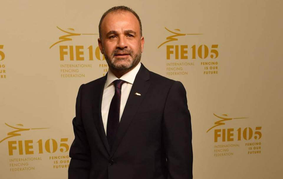 Abdel Moneim Al-Husseini, President of the Egyptian Fencing Federation