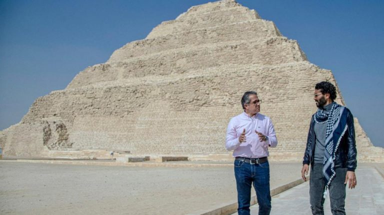 Egyptian Star Khaled El-Nabawi stars in promotional cultural tourism video